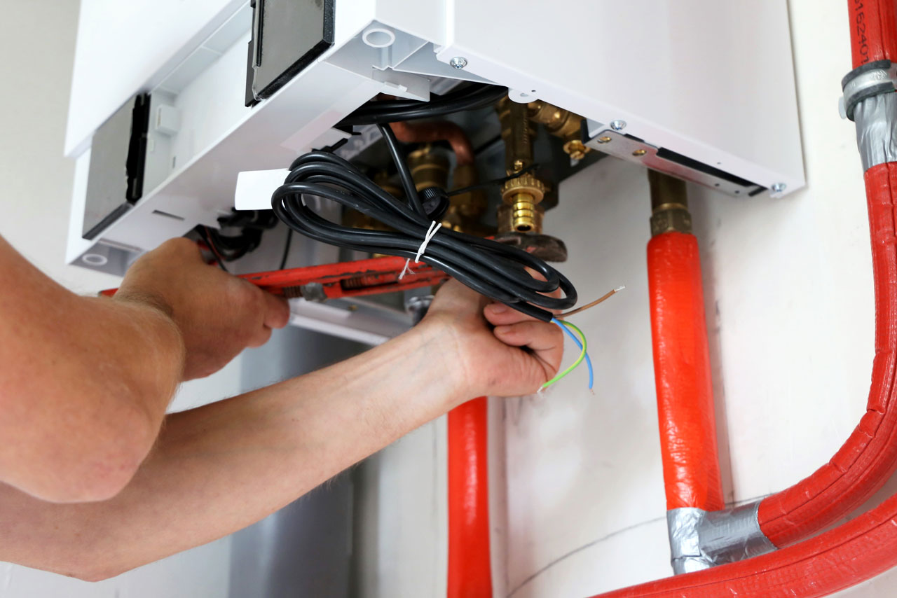 installation chaudière à gaz