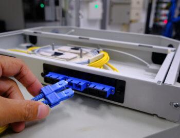 installation fibre optique